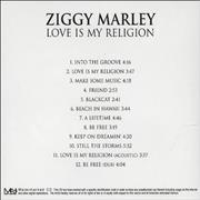 Click here for more info about 'Ziggy Marley - Love Is My Religion'