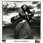 Click here for more info about 'Ziggy Marley - Signed Photograph'