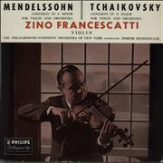 Click here for more info about 'Zino Francescatti - Mendelssohn: Violin Concerto in E Minor / Tchaikovsky: Violin Concerto in D Major'