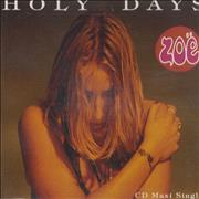 Click here for more info about 'Zoë - Holy Days'