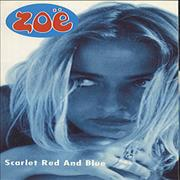 Click here for more info about 'Zoë - Scarlet Red And Blue'