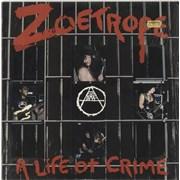Zoetrope A Life Of Crime UK vinyl LP