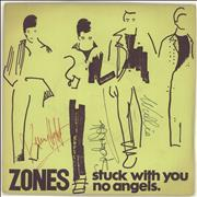 Click here for more info about 'Zones - Stuck With You - Autographed'