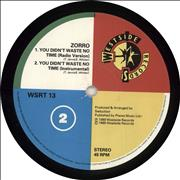 Click here for more info about 'Zorro - You Didn't Waste No Time'