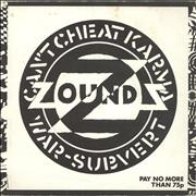 Click here for more info about 'Zounds - Can't Cheat Karma - Stapled Sleeve + Poster'