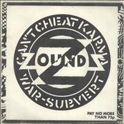 Click here for more info about 'Zounds - Can't Cheat Karma'