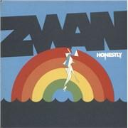 """Zwan Honestly UK 7"""" vinyl"""