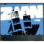 Zwan Lyric UK CD single