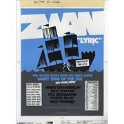 Zwan Lyric USA artwork