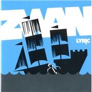 Zwan Lyric Germany CD single