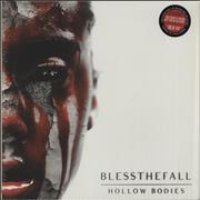 Click here for more info about 'blessthefall - Hollow Bodies - Clear and Red Splatter'