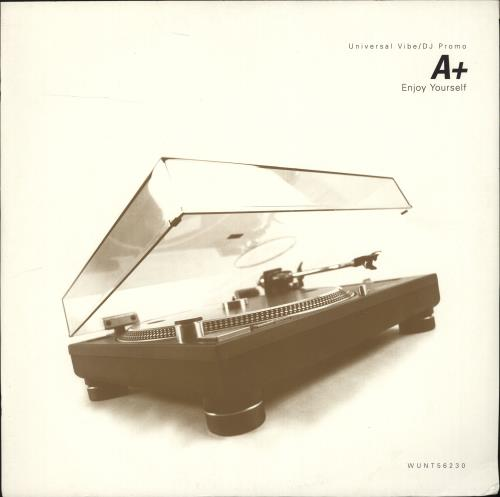 A+ - Enjoy Yourself - 12 inch 33 rpm
