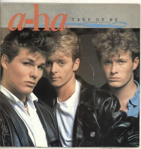 a-ha take on me - 3rd issue - colour sleeve