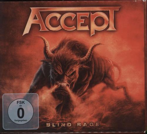 Accept Blind Rage UK Cd Dvd Set NB3195 20