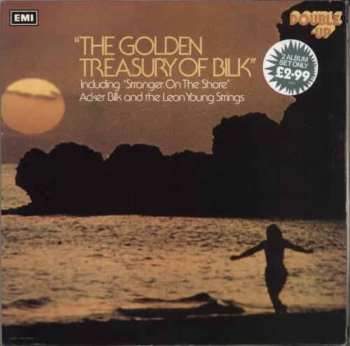 BILK, ACKER - The Golden Treasury Of Bilk - 12 inch 33 rpm