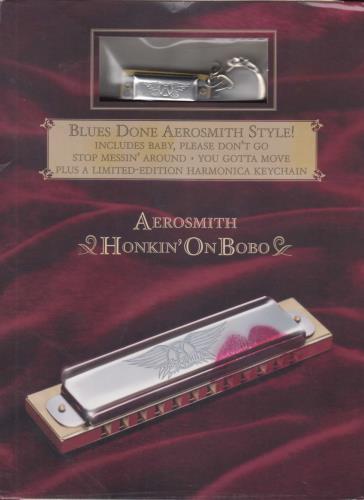 Aerosmith Honkin' On Bobo - Sealed UK Cd Album CK92079 Honkin' On Bobo - Sealed Aerosmith ...