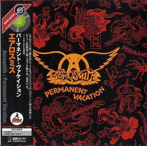 Aerosmith Permanent Vacation