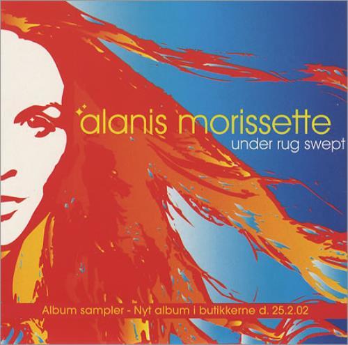 Alanis Morissette Under Rug Swept Danish Promo 5 Quot Cd