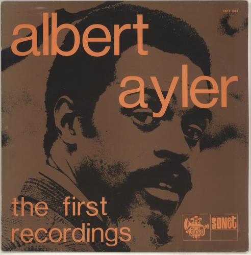 AYLER, ALBERT - The First Recordings - 12 inch 33 rpm