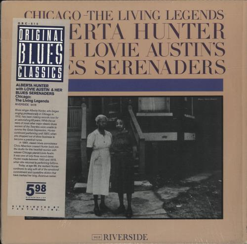 Hunter, Alberta Chicago - The Living Legends - stickered shrink