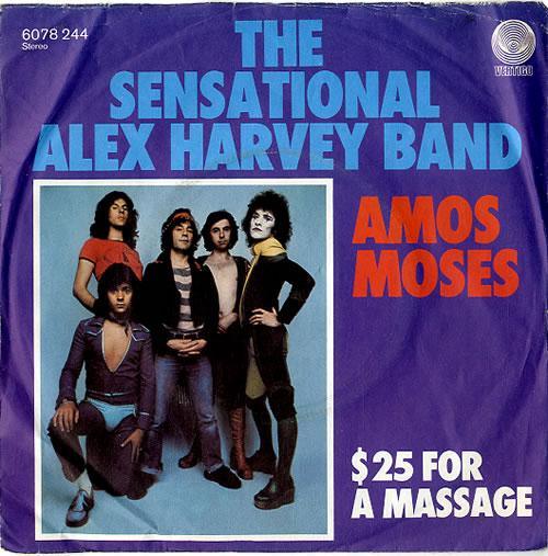 Sensational Alex Harvey Band Amos Moses