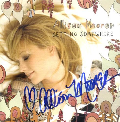 MOORER, ALLISON - Getting Somewhere - Signed Booklet - Others