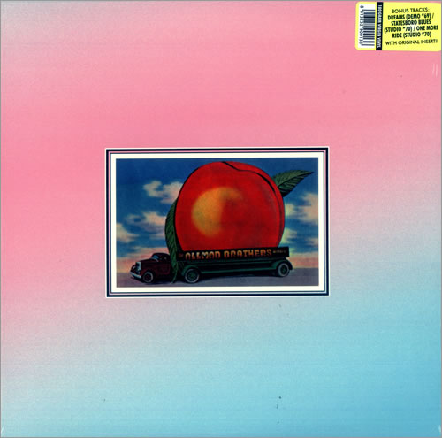 Allman Brothers Band Eat A Peach Russia Double Vinyl Lp
