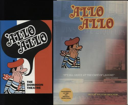 'ALLO 'ALLO - 'Allo 'Allo - Autographed - Others