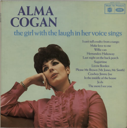 COGAN, ALMA - The Girl With The Laugh In Her Voice - Maxi 33T