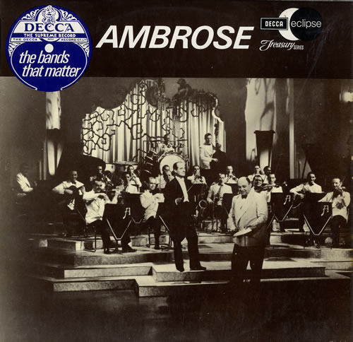 AMBROSE AND HIS ORCHESTRA - Ambrose - The Bands That Matter - 12 inch 33 rpm
