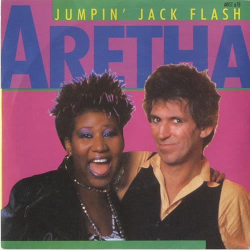 franklin, aretha jumpin' jack flash