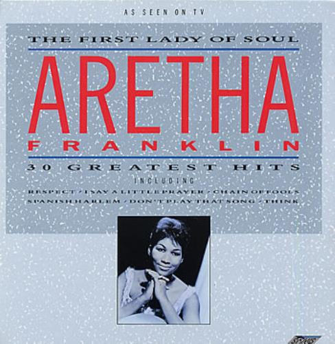 Franklin, Aretha The First Lady Of Soul - 30 Greatest Hits