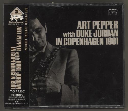 PEPPER, ART - With Duke Jordan In Copenhagen 1981 - CD