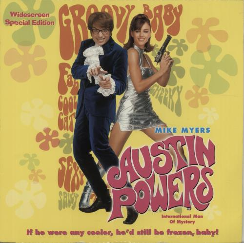 AUSTIN POWERS - International Man Of Mystery - DVD