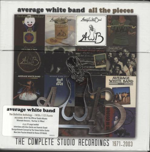 AVERAGE WHITE BAND - All The Pieces - The Complete Studio Recordings 1971-2003 - Sealed - Autres