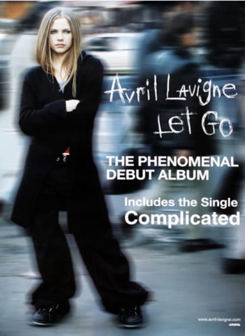 Avril Lavigne Let go (Vinyl Records, LP, CD) on CDandLP
