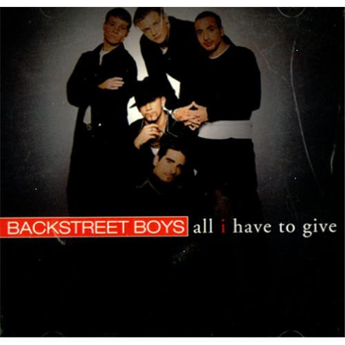 Backstreet Boys All I Have To Give Usa Promo 5 Quot Cd Single