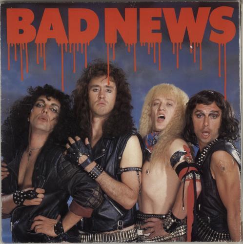 BAD NEWS - Bad News - EX - 12 inch 33 rpm