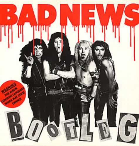 BAD NEWS - Bootleg - Maxi 33T