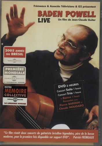 BADEN, POWELL - Live - DVD