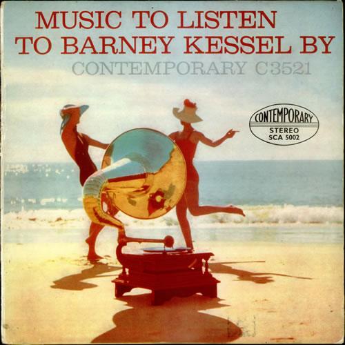 Barney Kessel Music To Listen To Barney Kessel By UK Vinyl LP Record ...