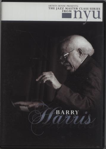 HARRIS, BARRY - The Jazz Master Class From NYU - DVD