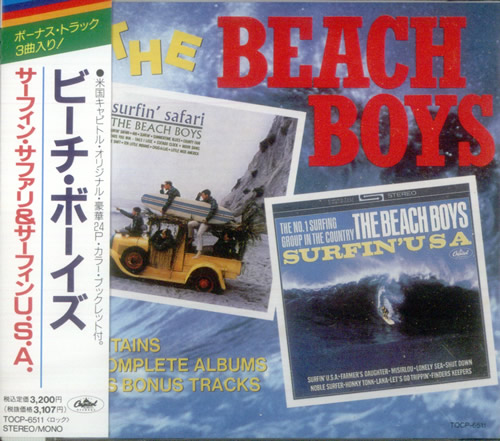 The Beach Boys Surfin Safari Surfin Usa Japan Cd Album