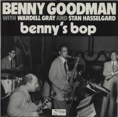 GOODMAN, BENNY - Benny's Bop - 12 inch 33 rpm