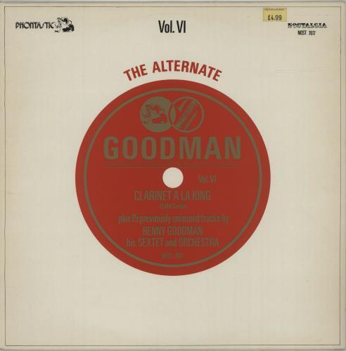 GOODMAN, BENNY - The Alternate Goodman Vol. VI - 12 inch 33 rpm