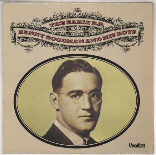 GOODMAN, BENNY - The Early B.G. - 12 inch 33 rpm