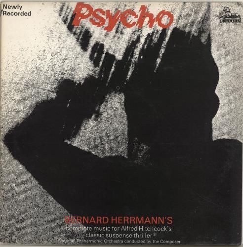 HERRMANN, BERNARD - Psycho - Maxi 33T
