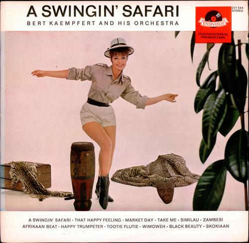Bert Kaempfert A Swingin Safari 1st Uk Vinyl Lp Record