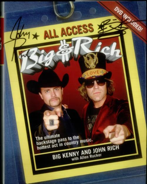 BIG & RICH - Big and Rich: All Access + DVD & Autogrpahed - Livre