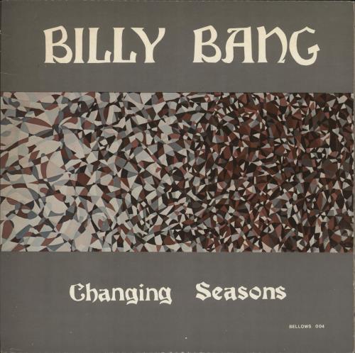 BILLY BANG - Changing Seasons - Maxi 33T